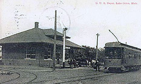 Lake Orion MI Interurban depot